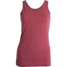 Tufte Wear Summer Wool Tank Top Dame roan rouge